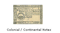 Colonial Continental Notes